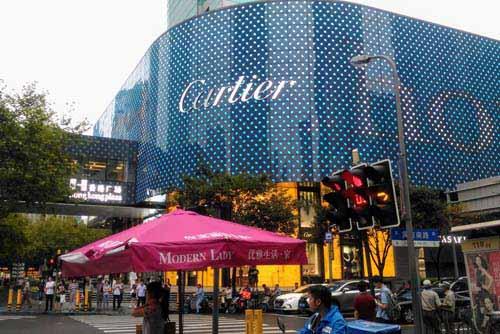 黄陂南路の香港市場