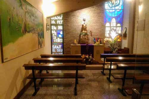 カンプノウにある教会