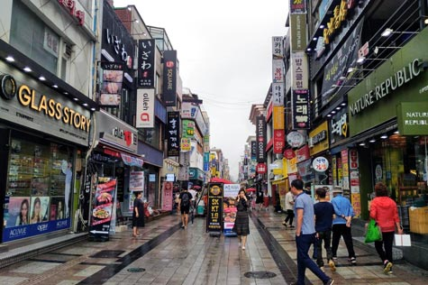 水原駅前商店街