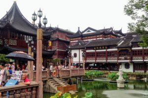 上海豫園の湖心亭