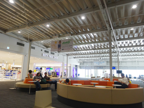 関西国際空港ラウンジ
