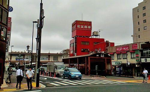 京成成田駅参道口