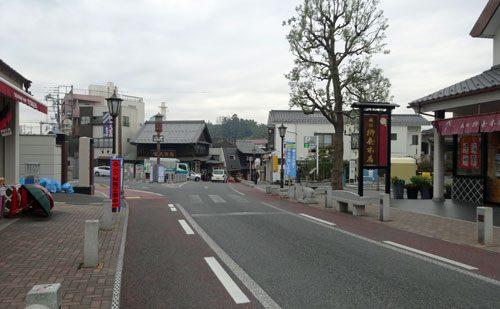 成田駅から成田山への表参道