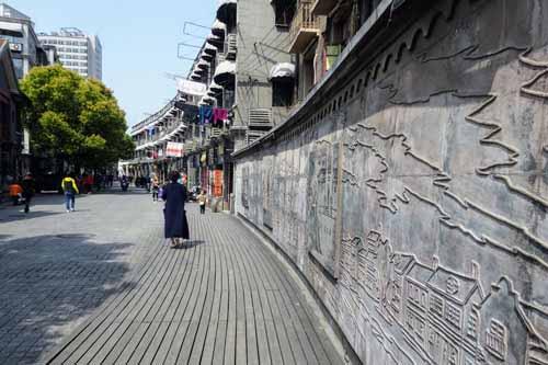 多倫路文化名人街の壁画