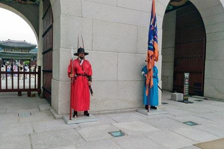 景福宮の守門将