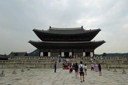 景福宮の正殿「勤政殿」国宝223号