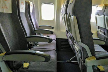 チェジュ航空の座席