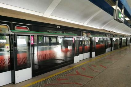 シンガポールのMRT「アルジュニード駅」