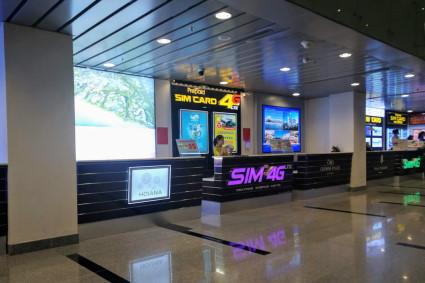 ダナン国際空港SIMカウンター