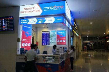 ハノイ・ノイバイ国際空港SIMカウンター