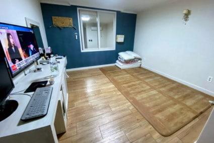 韓国のオンドル部屋
