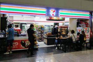マニラ空港第3ターミナルの「セブンイレブン」
