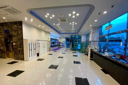 ホテル東横INN釜山海雲台2(ヘウンデ2)のロビー