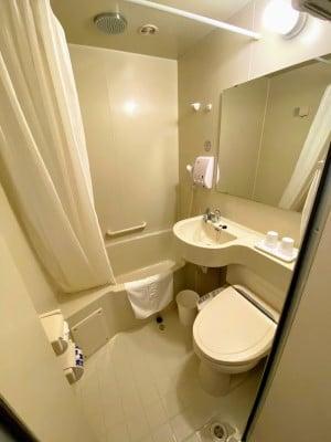 ホテル東横INN釜山海雲台2(ヘウンデ2)の浴室