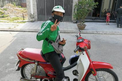 ダナンのgrabバイク