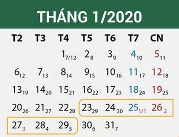 ベトナムの旧正月「テト」カレンダー