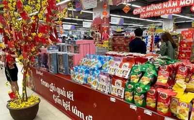 ベトナムの旧正月「テト」のスーパー