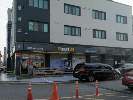 韓国コンビニエンスストアー「emart24」